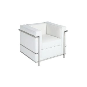 "Lounge Chair - ""Le Corb"" White"