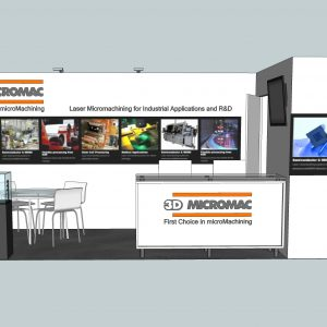 3DMC001 - 10x20 Trade Show Booth Rental
