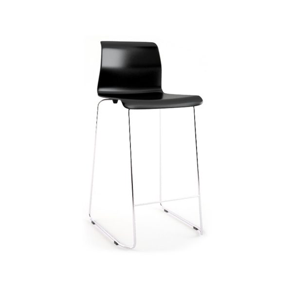 "Bar Stool - ""Glen"" Black"