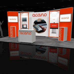 APRI002 - 10x20 Trade Show Exhibit Rental