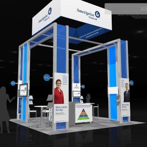 APRI 117 - 20 x 20 Trade Show Exhibit Rental