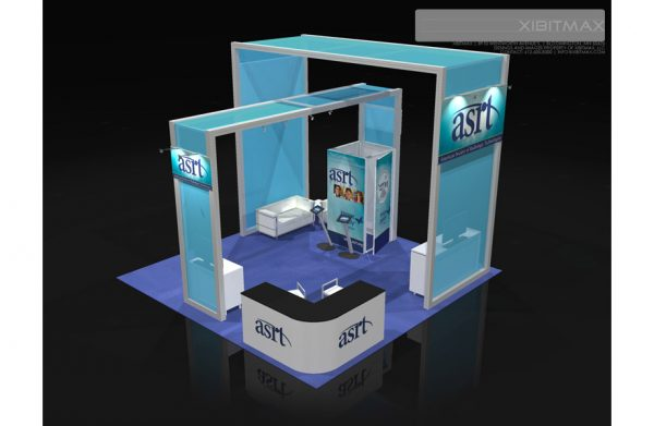 ASRT002 - 20x20 Trade Show Booth Rental