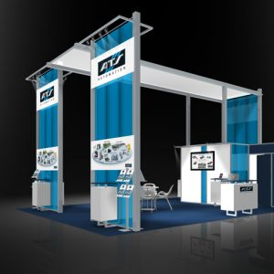 ATSA001- 20x30 Trade Show Exhibit Rental