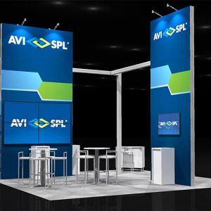 AVIS 002 - 20x20 Trade Show Booth Rental