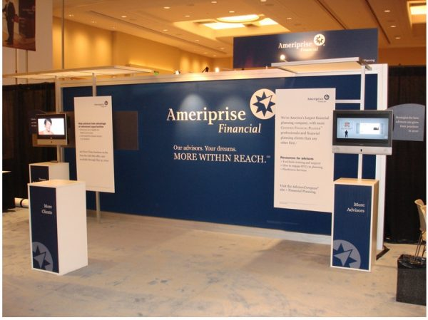 APRI072 - 10x20 Trade Show Booth Rental