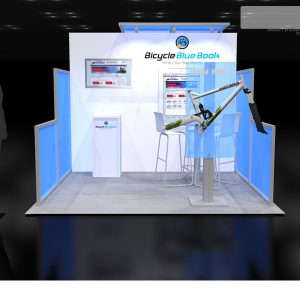 BBBK001 - 10x10 Trade Show Exhibit Rental