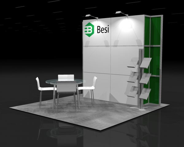 BESI001 - 10x10 Trade Show Booth Rental