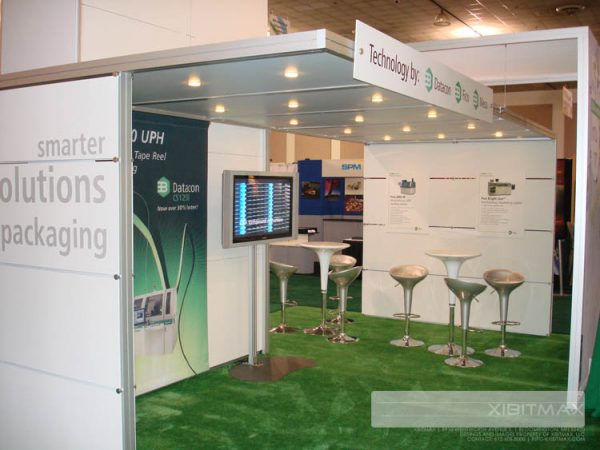 BESI060 20x20 Trade Show Booth Rental
