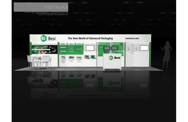 BESI003 - 10x30 Trade Show Booth Rental