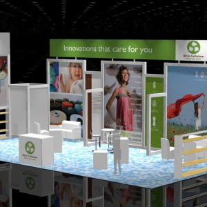 BIRL002 - 20x40 Trade Show Booth Rental
