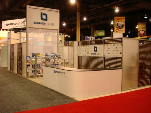 BRND001 - 30x50 Trade Show Display Rental