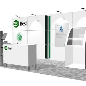 BESI009 - 10x20 Trade Show Booth Rental
