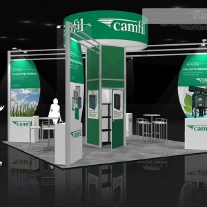CAMF005 - 20x20 Trade Show Exhibit Rental