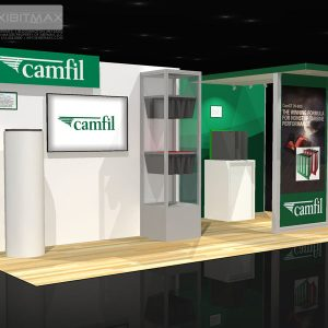 CAMF001 - 10x20 Trade Show Exhibit Rental