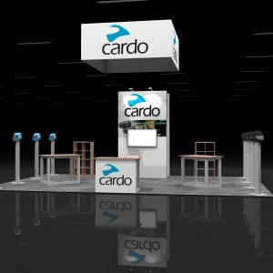 CARD00A - 20x30 Trade Show Display Rental