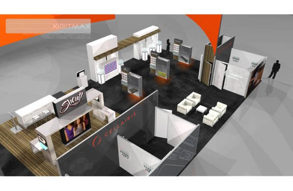 CELL017 - 40x100 Trade Show Exhibit Rental