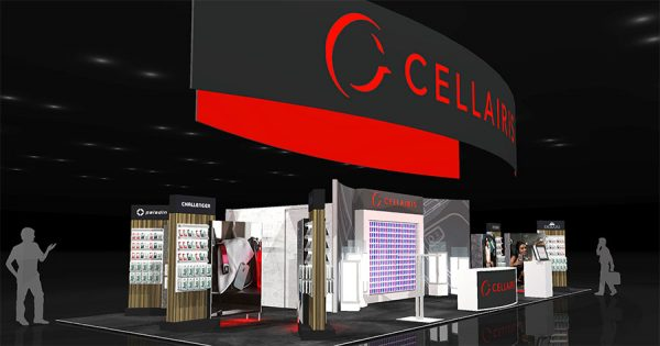 CELL020 - 20x50 Trade Show Display Rental