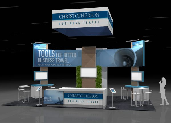 CHRS006 - 20x30 TRADE SHOW EXHIBIT RENTAL