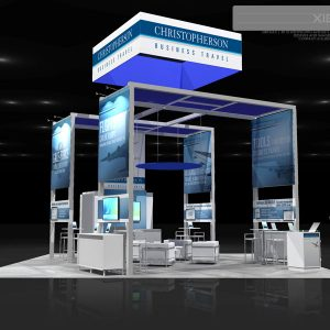 CHRS003 - 30x30 Trade Show Exhibit Rental