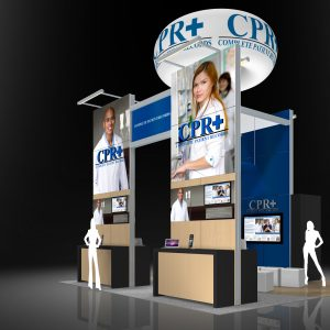 CPR+001 - 20x20 Trade Show Exhibit Rental