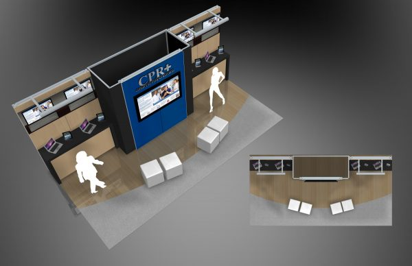 CPR+002 - 10x20 Trade Show Booth Rental