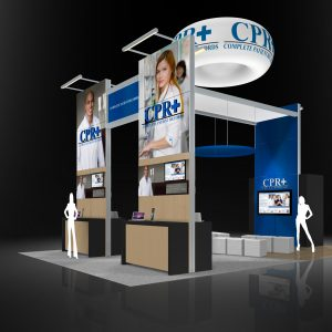 CPR+003 - 20x30 Trade Show Booth Rental