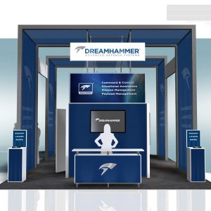 DREM001 - 20x30 Trade Show Booth Rental