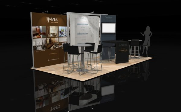 DENI001 - 10x20 Trade Show Exhibit Rental