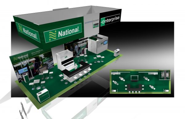 ENTP009 - 20x50 Trade Show Display Rental