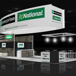 ENTP018 - 20x50 Trade Show Exhibit Rental