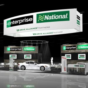ENTP027 - 30x50 Trade Show Booth Rental