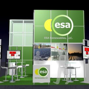 ESAR001 - 2-x2- Trade Show Display Rental