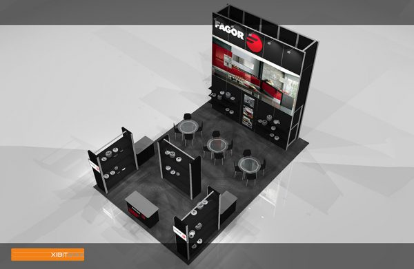 FAGO 001 - 20x30 Trade Show Display Rental