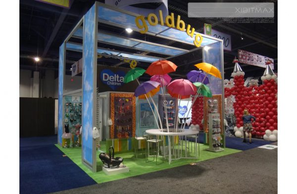 GLDB001 - 20x20 Trade Show Booth Rental