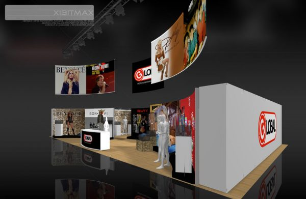 GMSV003 - 30x50 Trade Show Display Rental