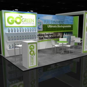 GOGR001 - 10x20 Trade Show Display Rental