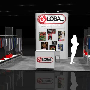 GMSV00A - 20x20 Trade Show Exhibit Rental