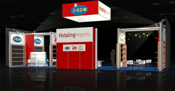 HOTA006 - 20x50 Trade Show Display Rental