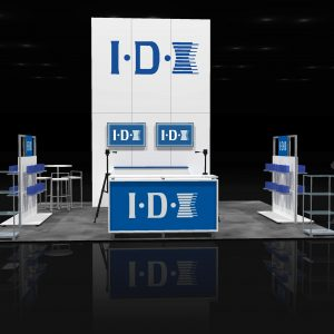 IDXS 001 - 20x20 Trade Show Display Rental