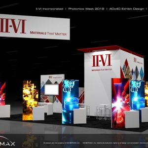 II-VI Inc_Photonics West19_40x40 Exhibit Design OPTION 2