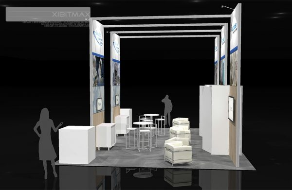 ILCD001 - 20x30 Trade Show Exhibit Rental
