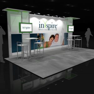 INSP001 - 10x20 Trade Show Exhibit Rental