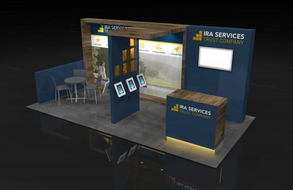 IRAS00A - 10x20 Rental Booth Exhibit