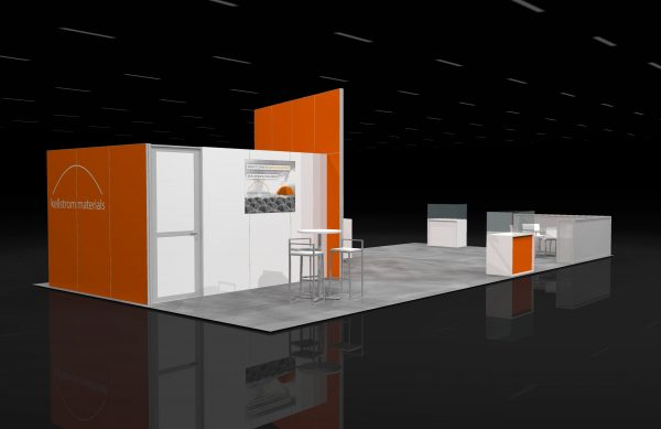 KELL00A - 20x40 Exhibit Booth Rental