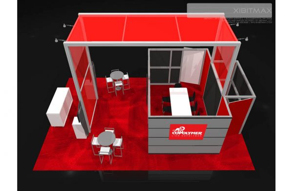 LION001 - 20x30 Trade Show Booth Rental