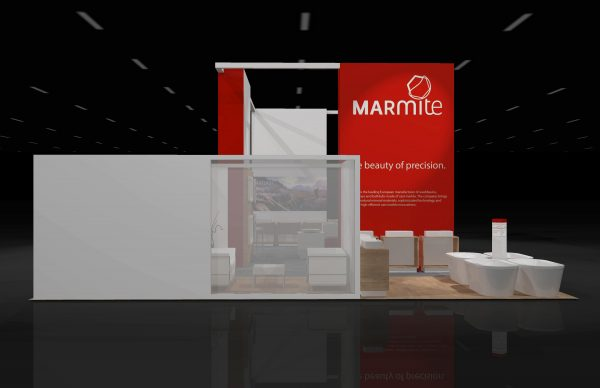 MARM00A - 30x50 Rental Booth Exhibit