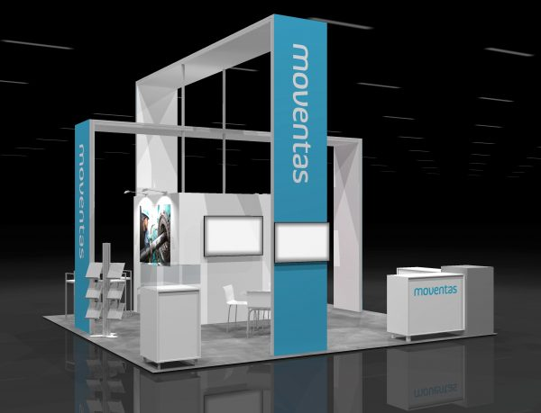 MOVA00A - 20x20 Trade Show Display Rental