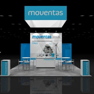 MOVA00B - 20x20 Trade Show Display Rental