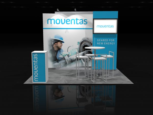 MOVE002 - 10x10 Trade Show Exhibit Rental
