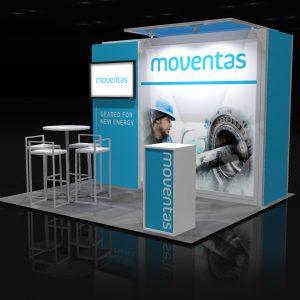 MOVE003 - 10x10 Trade Show Booth Rental
